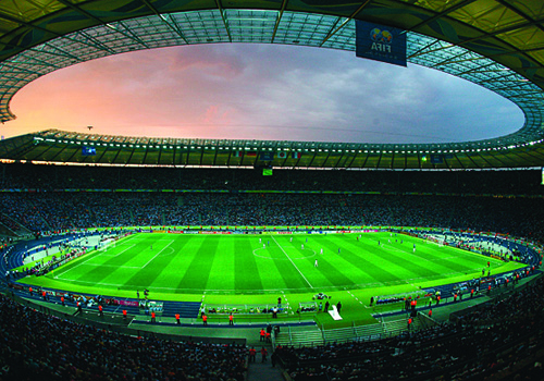 Acoustic design expert Wolfgang Ahnert designed the sound reinforcement system installed in Berlin's iconic Olympic Stadium, which featured at last ye