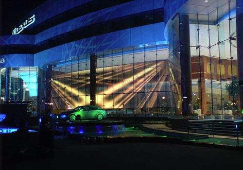 The Lexus dealership located in Muscat.