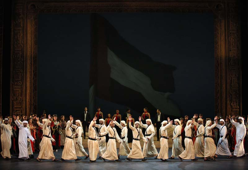Abu dhabi authority for culture and heritage, ADACH, London, Musical, Pictures, Theatre production, Zayed and the Dream, News, International News