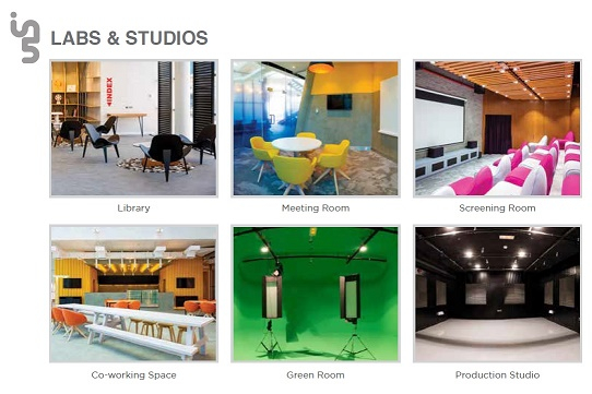 A range of facilities are available at in5 to help content creators.