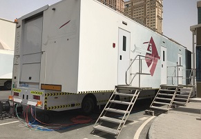 Lawo deplyed tech for two of Qatar TV's OB vans.