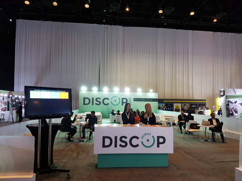 DISCOP Dubai earlier this year.