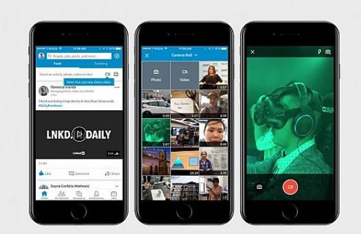LinkedIn, Video feature mobile app, News, International News