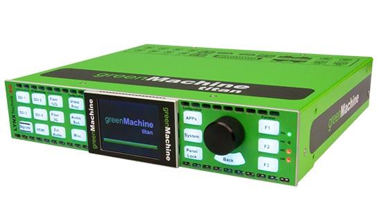 Lynx Technik greenMachine titan.
