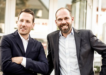 Sebastian Schaffrath, CTIO and Holger Schostak, COO.