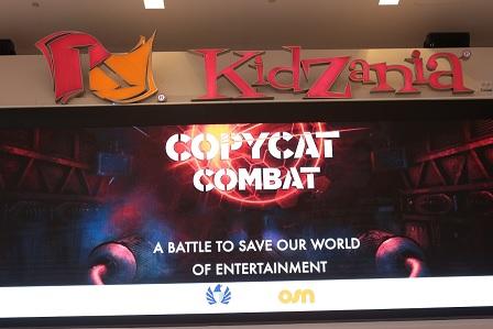 The virtual reality game is available to play at KidZania Dubai.