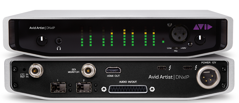 AVID, Broadcast & Studio Solutions, Hardware, Interface, IP video, Post production, News, Broadcast Business, Delivery & Transmission