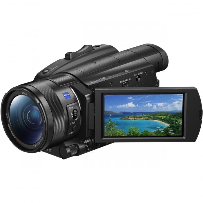 Sony 4K Handycam FDR-AX700