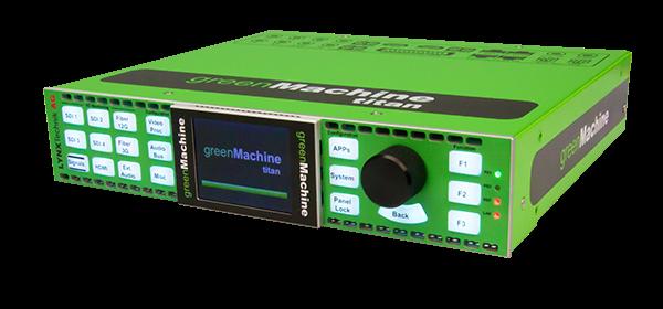 greenMachine titan hardware