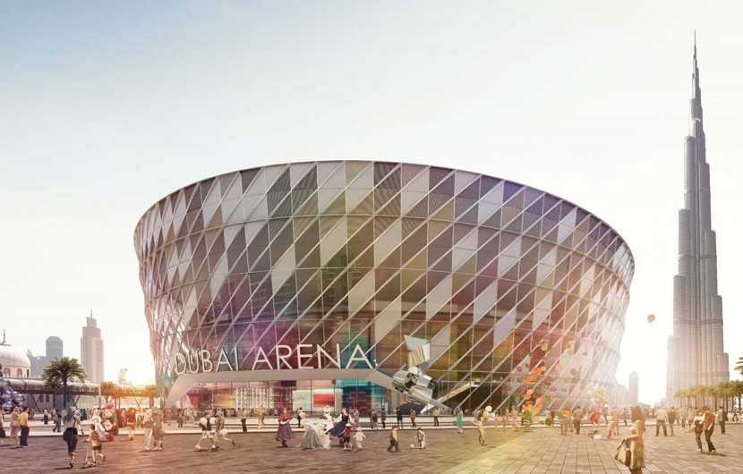 Dubai Arena opens in 2018