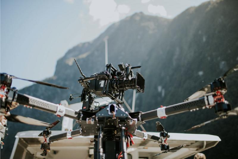 XM2 Romeo drone with Alexa Mini and Teradek Bolt 3000