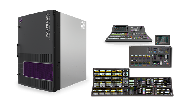 GV K-Frame X Video Processing Engine
