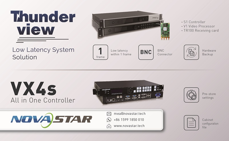 Novastars ThunderView and VX4