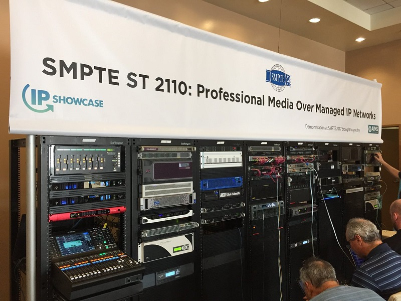 SMTPE ST 2110 Standards Published