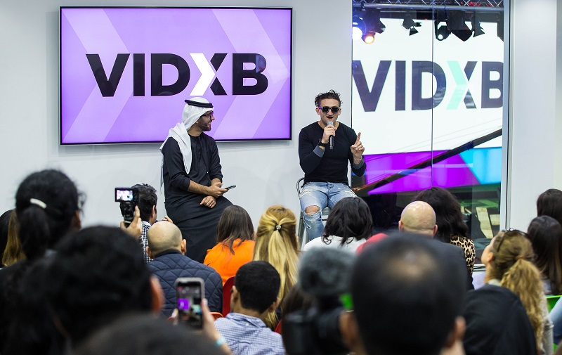 VIDXB - First Ever Event in Dubai Showcasing Online Content Creators