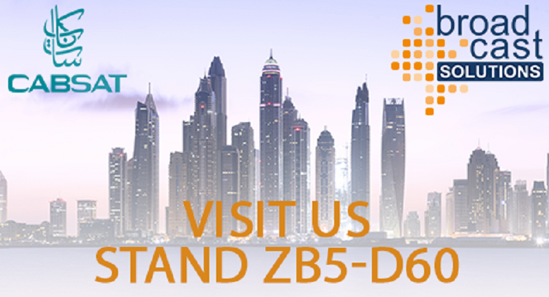 Broadcast solutions, CABSAT, ChyronHego, Wireless communication, News, Broadcast Business