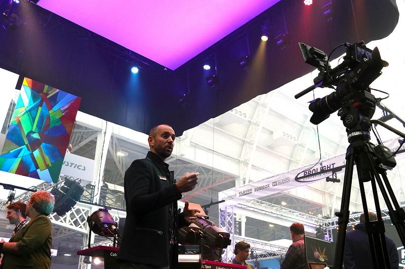 ETC, Lighting control, Lighting industry, Studio lighting, News, Content production