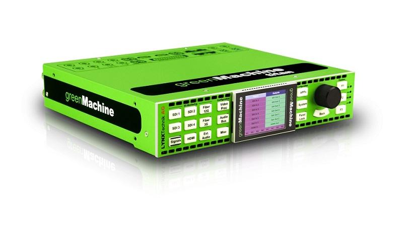 4K/UHD Multiviewer, Broadcast & Studio Solutions, LYNX Technik AG, SDI, UHD, News, Broadcast Business, Delivery & Transmission