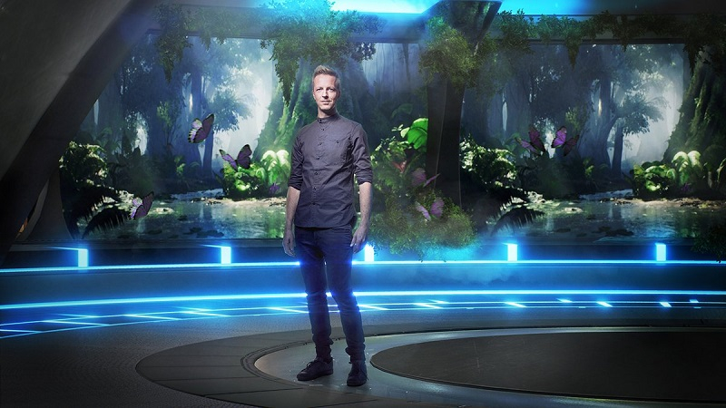 Lost in Time, mixed reality format gameshow