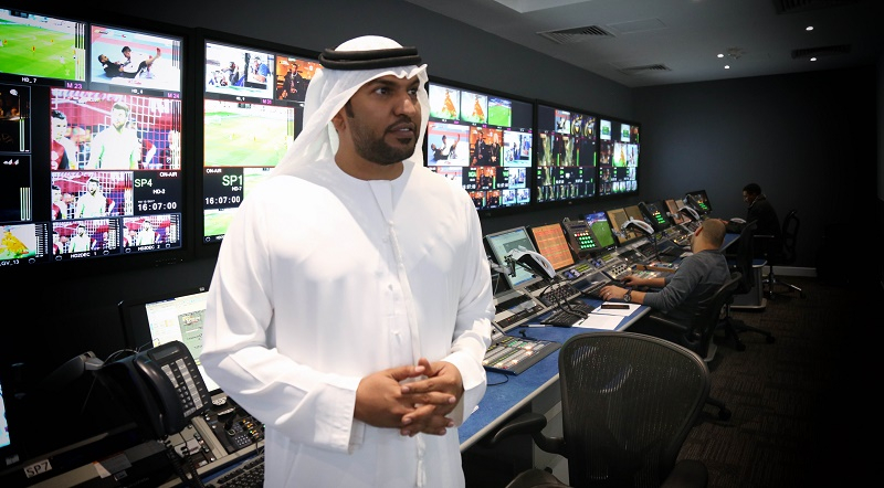 Ahmed Al-Menhali director of projects at Abu Dhabi Media