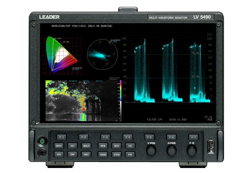 4K broadcast, 4K HDR, Leader Electronics, Test and measurement, News, Live Events, Delivery & Transmission, International News