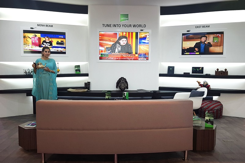 CABSAT, South Asia, Tv channels, Yahlive, News, Content production, Broadcast Business