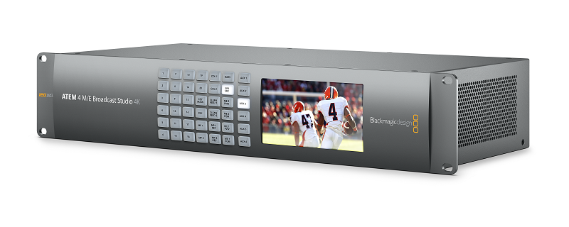 4K, Blackmagic Design, Broadcast & Studio Solutions, Product launch, Latest Products