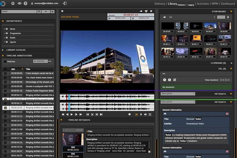 Tedial Smart LIVE screenshot