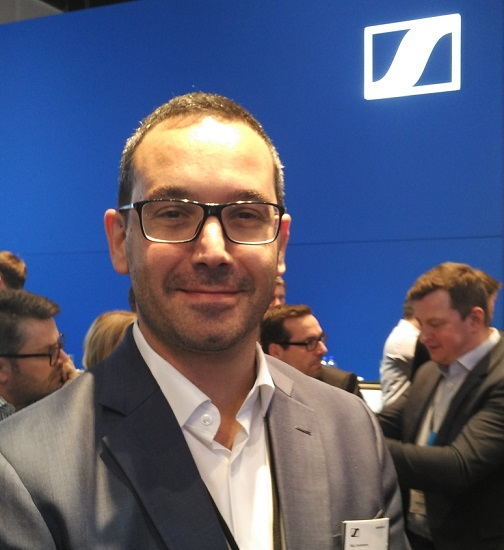 Mig Cardamone, Director of Sales and Marketing at Sennheiser Middle East