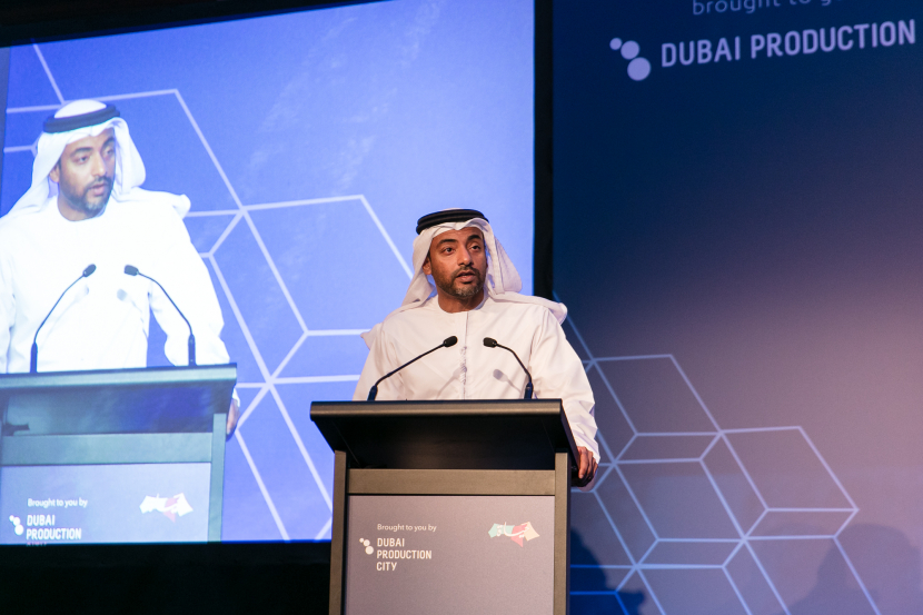 Majed Al Suwaidi, Managing Director of Dubai Production City