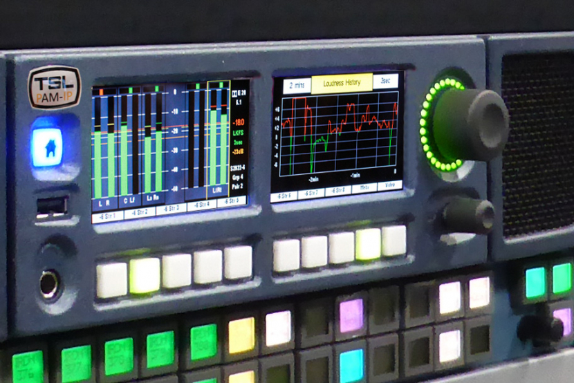 TSL Products PAM1-IP and PAM2-IP audio monitoring units