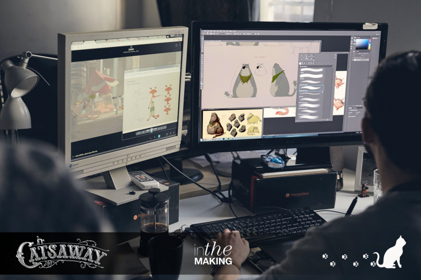 Making of 'Catsaway' - an animated feature-length film by Emirati director Fadel Saeed AlMuhairi