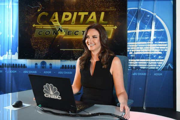 CNBC Middle East Anchor Hadley Gamble