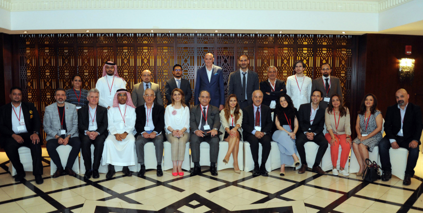 MENA Broadcast Satellite Anti-Piracy Coalition members at the 2018 annual event