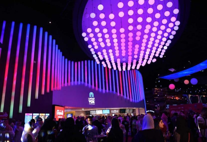 Vox has recently opened cinemas in Saudi Arabia as well.