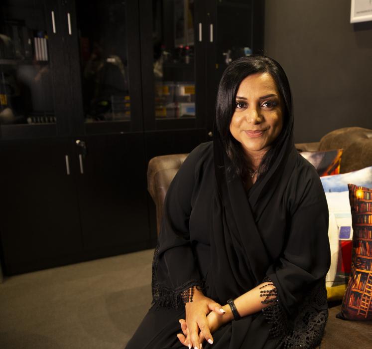 Nayla Al Khaja, Emirati filmmaker and CEO of Nayla Al Khaja Films