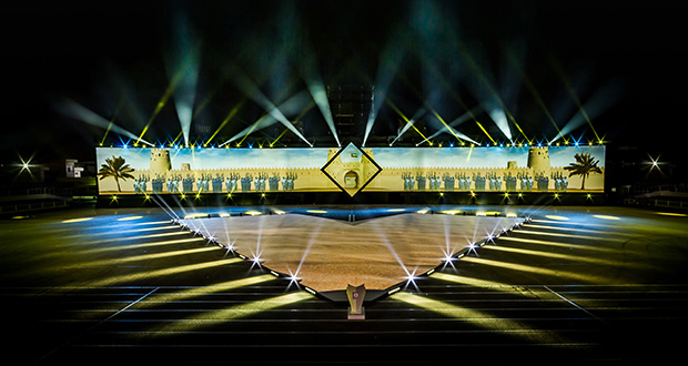Abu Dhabi Police celebrates 60 years with giant projections