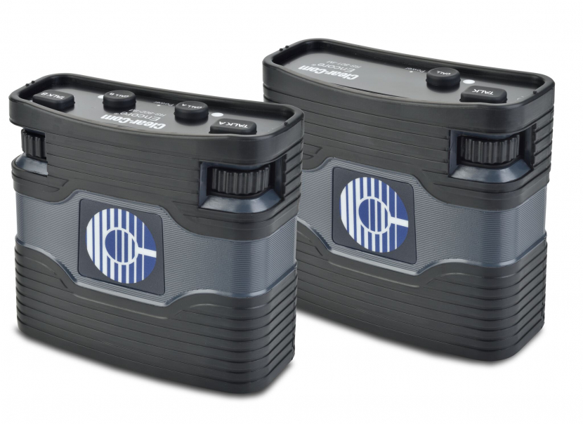 Clear-Com 800 Series beltpacks - RS-801-IM single channel and RS-802-IM dual channel