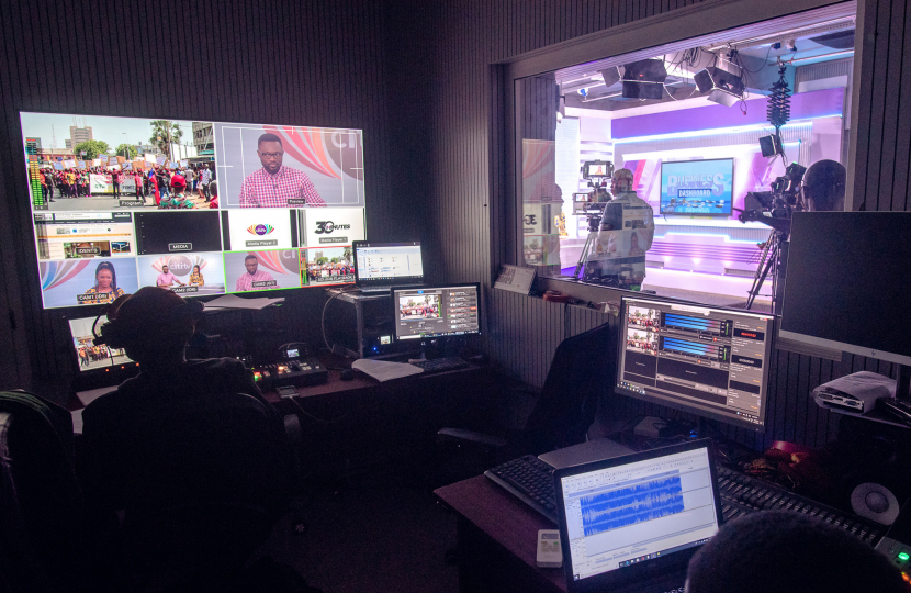 African, Broadcast installation, Tv playout, Ingest technology, Playbox, NEO, Broadcast technology, Automated playout centre, Broadcast automation, Master control room