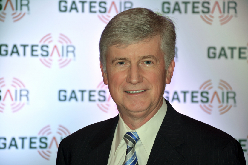 GatesAir's TV Transmission Product Manager Martyn Horspool