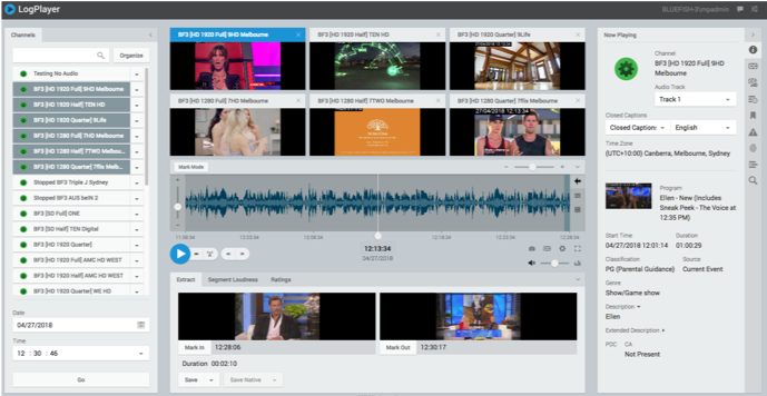 Mediaproxy, Broadcast asia, 4K/UHD Multiviewer, SMTPE 2110, Media over IP, Newtek NDI, Compliance, Monitoring