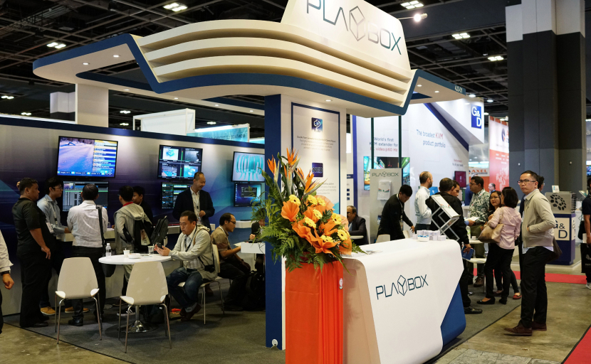 Playbox, Broadcast asia, Automated playout centre, Cloud playout, Channel branding