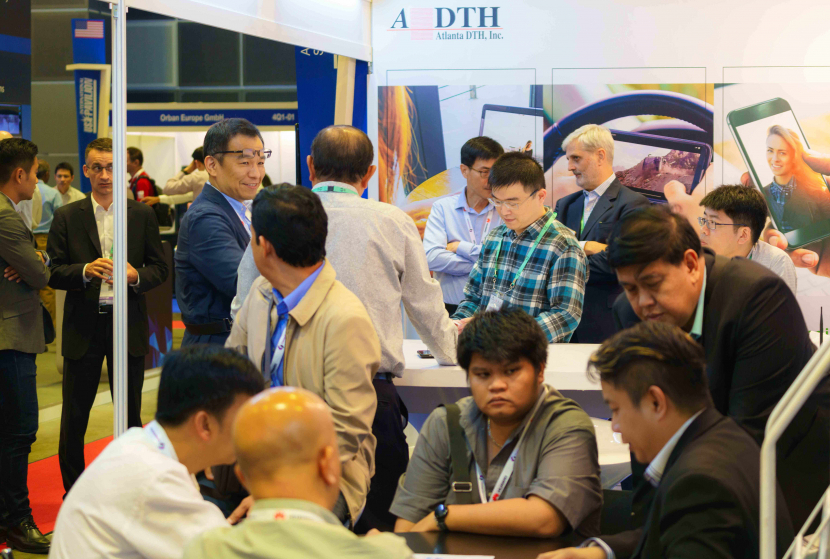 ADTH stand at Broadcast Asia 2018