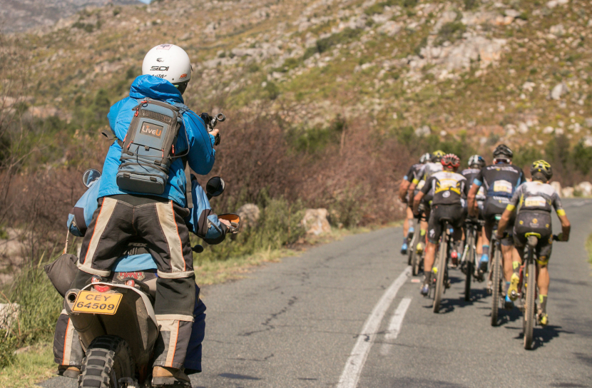LiveU's flagship LU600 4K HEVC solution was deployed for the Cape Epic 2018 mountain bike race