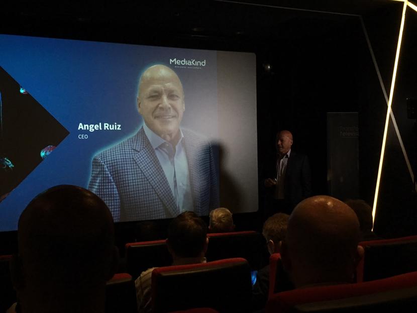 Angel Ruiz, CEO, MediaKind unveils the new brand