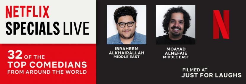 Netflix, Comedy, Arabic content, Arab talent, Comedy content, Netflix original