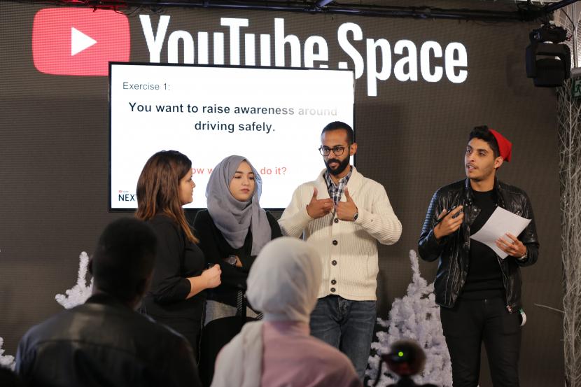 YouTube, YouTube Space, Content creators, Arab content, Shortform, Arabic content OTT, Arab youth, Viral