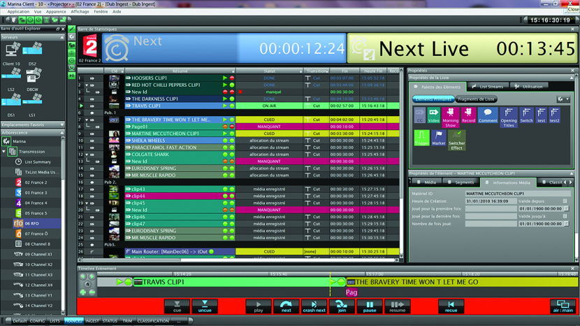 Pebble Beach Systems playout automation
