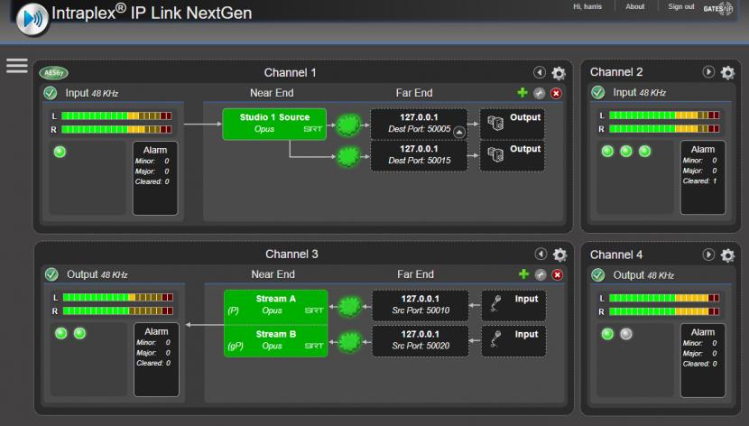 GatesAir, IBC 2018, Audio over IP, Broadcast transmission, IP transport, Audio technology, Dante Audio, AES67, Convergence