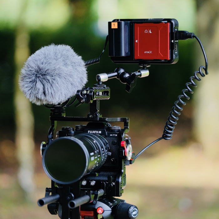 By moving recording to an external Atomos recorder like the Ninja V, mirrorless cameras are freed of many of their key video limitations.